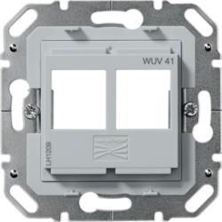 -polig Hager WUV13 UAE-Anschlussdose 2-fach 4 2x8-