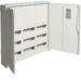 FWQ53N Feldvert.AP,  univers,  IP44, SKII, 108PLE,  HS Abstand150mm, 800x800x161mm,  Quickset