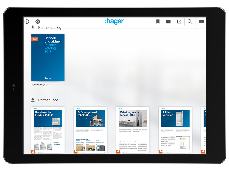 Die Mediathek - alles in einer App Hager